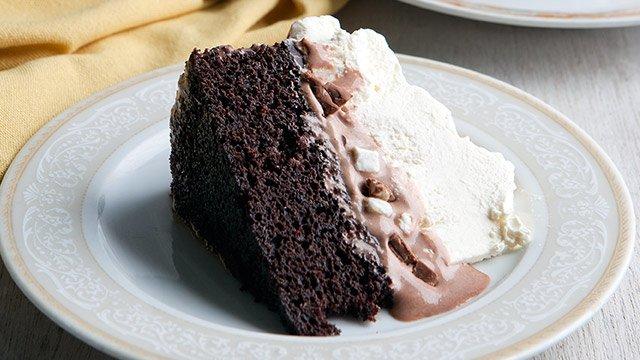 Chocolate Ice Cream Cake Recipe