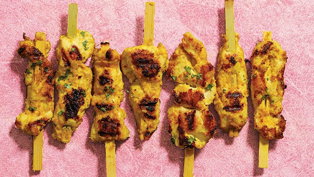 Easy Grilled Chicken Satay Recipe