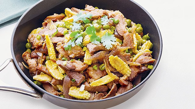 how to make pork stir fry