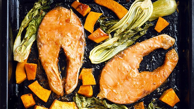Miso-Glazed Baked Salmon Recipe