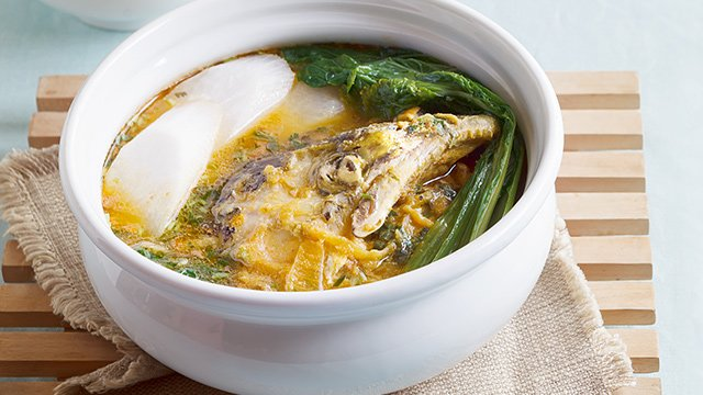 Salmon Head Sinigang sa Miso Recipe