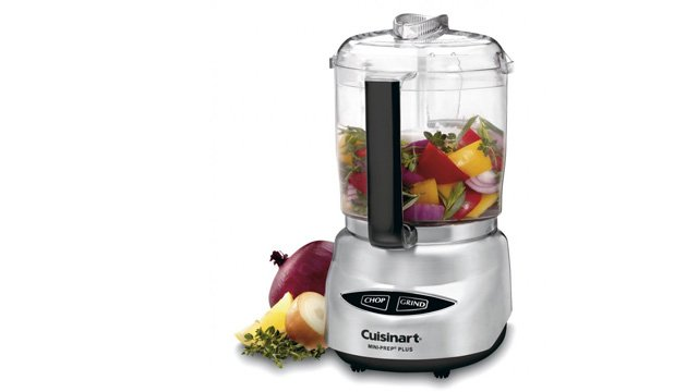 This mini version of the food processor is a great space-saving option.