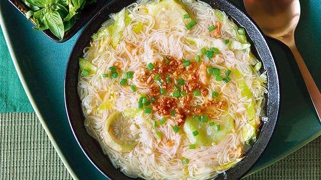 Misua Soup with Patola Recipe