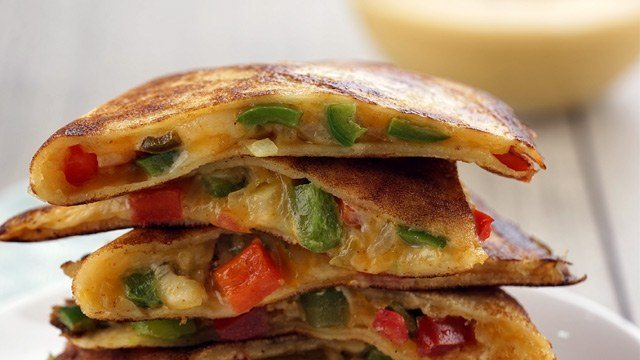 Cooking for one you can make these quesadillas using boxed pancake mix image courtesy of maya kitchen ccuart Images