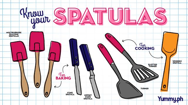 Various spatulas