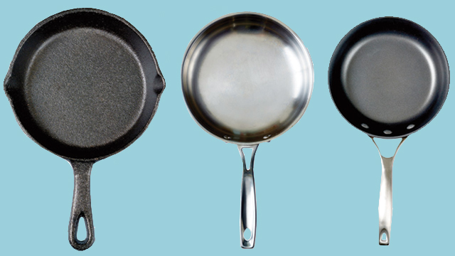 Stainless Steel Vs Cast Iron Vs Nonstick The Kind Of Pan You Use Will Make A Huge Difference In The Result Of A Recipe Here Are A Few Rules To Help You