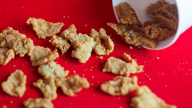 You Can Get Kfcs New Chicken Cracklings With Your Fully Loaded Meal
