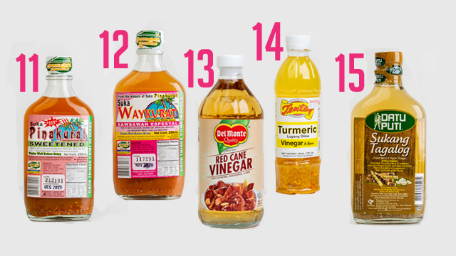 All The Different Filipino Vinegars + How To Use Them
