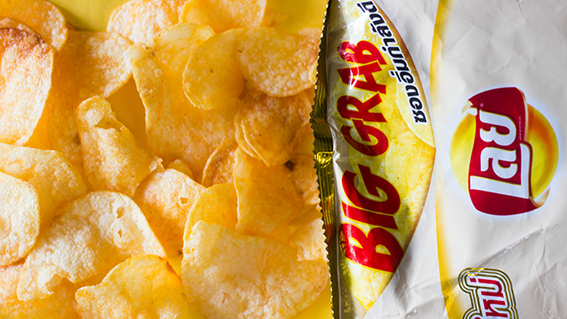 Convenience Store Find: Lay's Salted Egg Potato Chips!