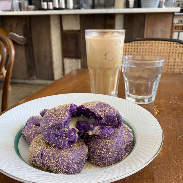 Ube cheese pandesal are super delicious and pillowy soft.