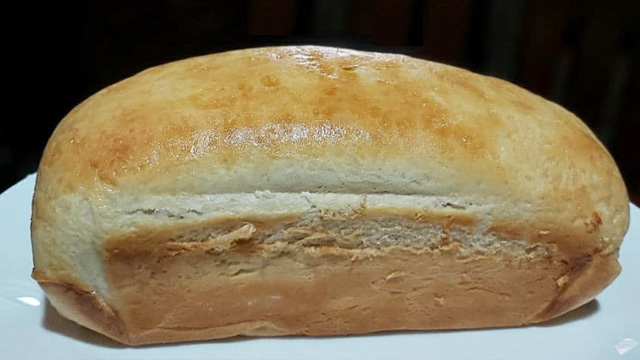 This gorgeous loaf of bread is made using the tangzhong method which created this Hokkaido milk bread loaf.