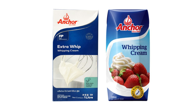 Here Are The Brands Of Whipping Cream You Can Find in Stores