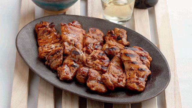 Sizzling Korean Chicken Barbeque