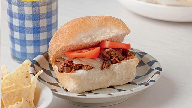 Pulled Pork Adobo Sandwich