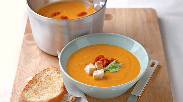Sweet Potato and Chorizo Soup Recipe