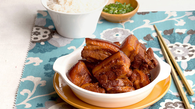 Tender chinese braised pork belly recipe yummy tender chinese braised pork belly recipe forumfinder Images