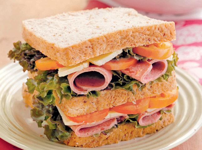 How To Make A Sub Sandwich Cake
