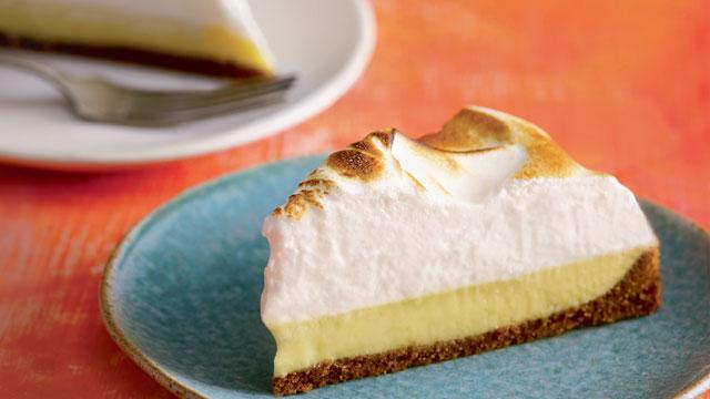 Calamansi Curd Pie Recipe