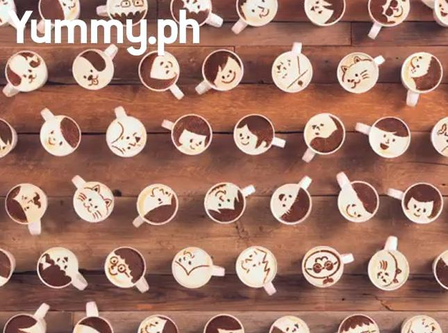 WATCH: 1,000 Cups Were Used to Make This Cute Latte Art Animation