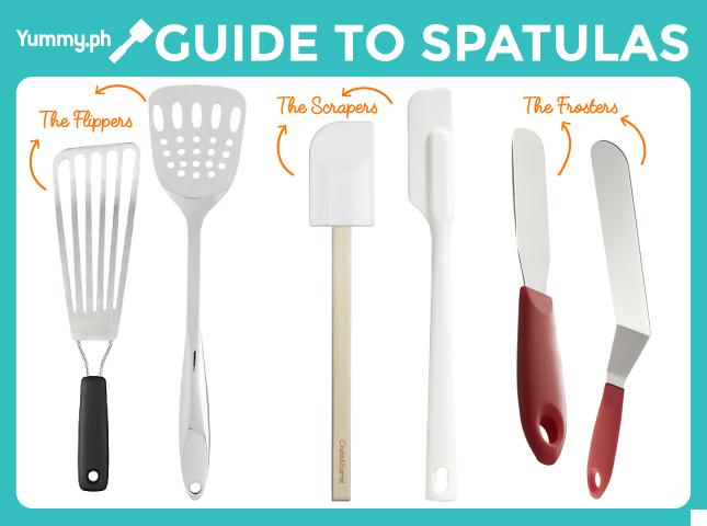 Different spatulas
