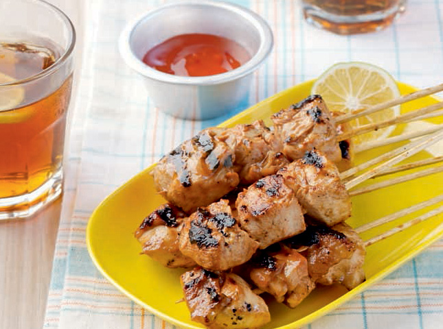 Thai-style Chicken Barbecue Recipe